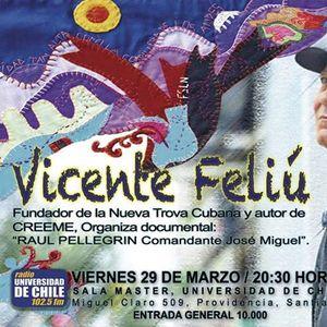 Vicente Feli en Chile