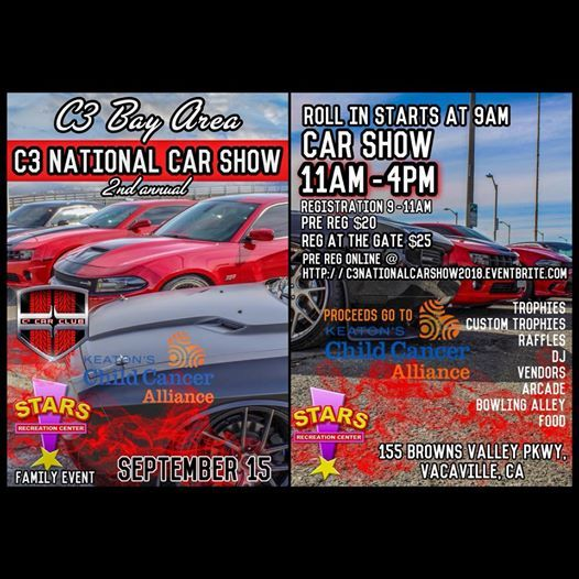 C National Car Show At Stars Recreation Center California - Bay area car shows this weekend