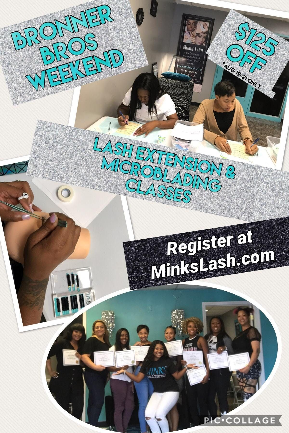 Beginners Lash Extensions & Microblading Class