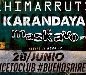 Chimarruts Maskavo y Karandaya en Buenos Aires