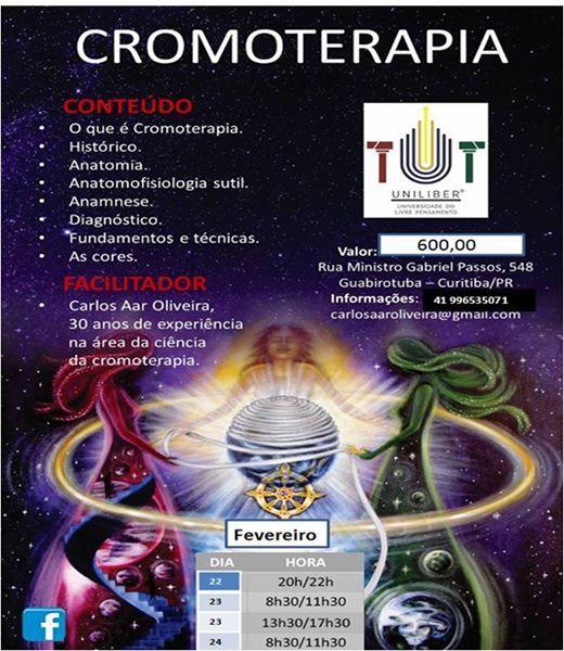 Curso de Cromoterapia Clinica