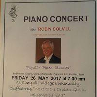 Piano Concert with Robin Colvill