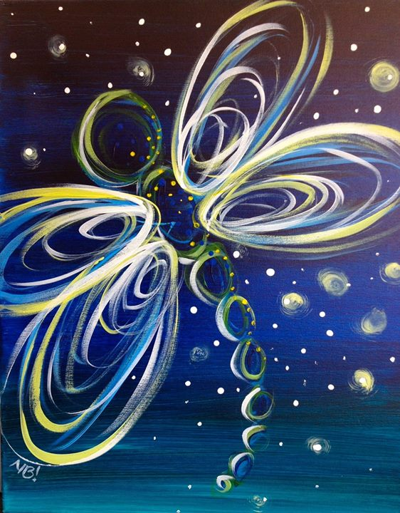 All ages neon dragonfly at painting with a twist cedar for Painting with a twist arizona