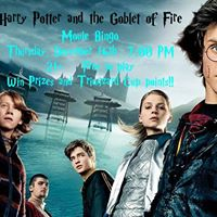 Harry Potter and the Goblet of Fire Movie Bingo
