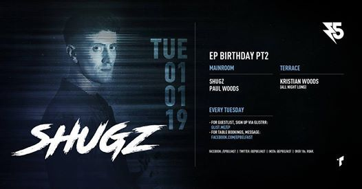 EP5 Part 2 - Shugz NYD Special [2019 Club Residency]