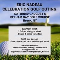 Second Annual Eric Nadeau Celebration Golf Outing