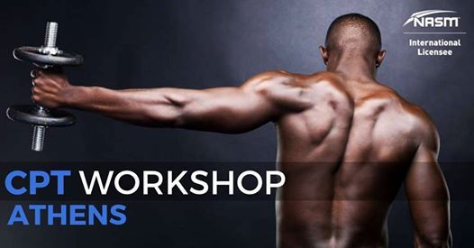 Certified Personal Trainer by NASM - Athens Workshop