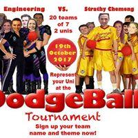 GUES vs Strath Chemeng Dodgeball