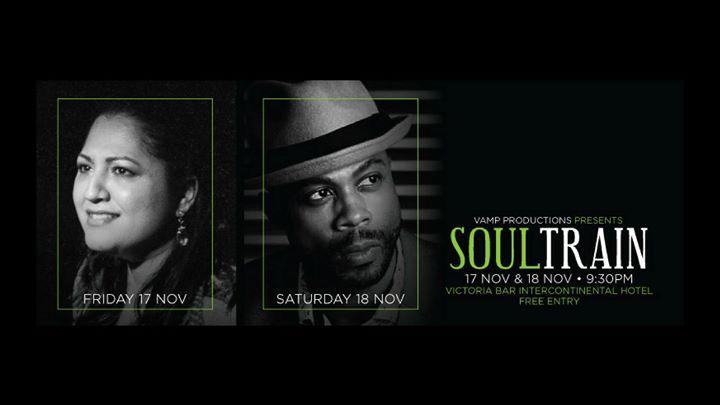 Soul Train Weekend at Victoria Bar InterContinental Singapore