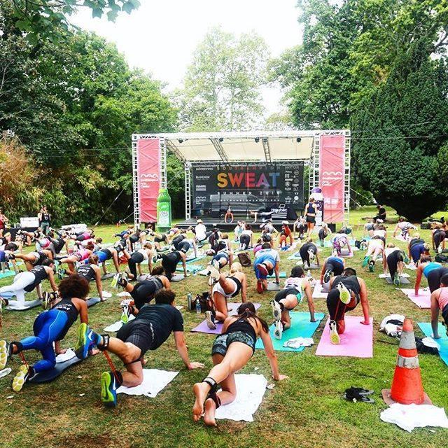 Southampton Sweat Fitness Festival  Water Mill NY