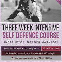 Three week intensive self defence course (Ladies only)
