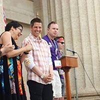 Pride Winnipeg Rally at the Legislature