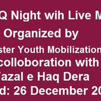 Bar B Q Night with Live Music