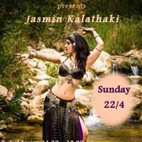 Tribal fusion &amp A.T.S Workshop with Jasmin Kalathaki