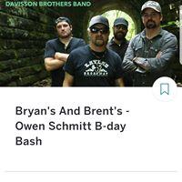 Davisson Brothers Band Owen Schmitt Bday Bash