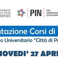 Presentazione Corsi di Progeas ed Infermieristica - 27 aprile