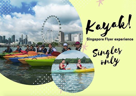 Kayak With Singapore Flyer Experience (Exclusively For Singles)