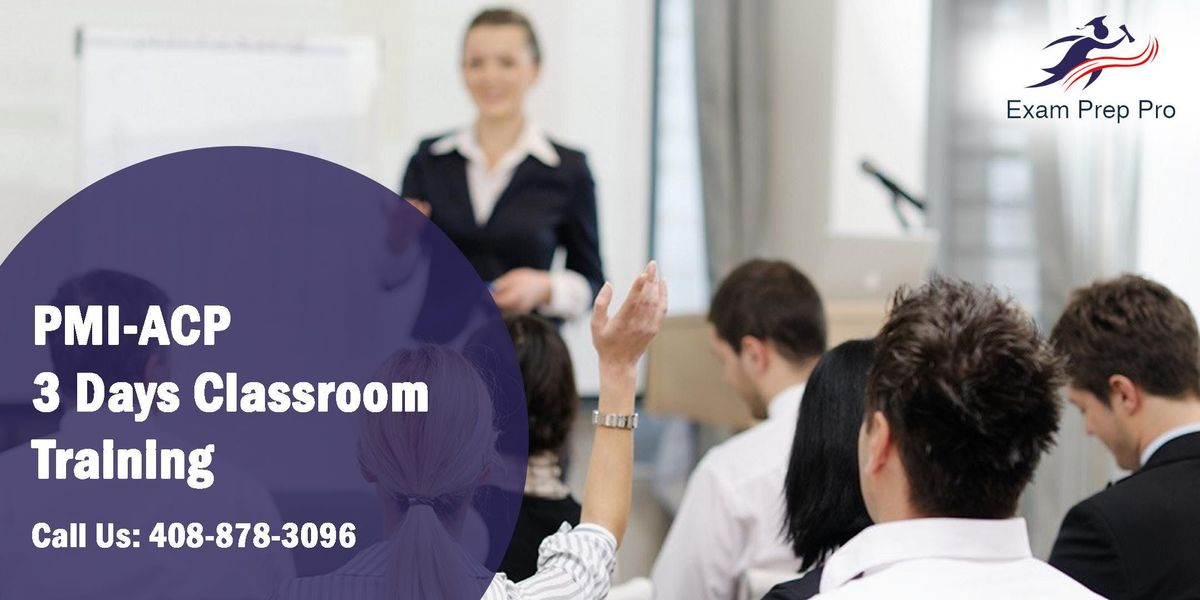 PMI-ACP 3 Days Classroom Training in Chandler AZ