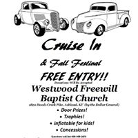 Westwood Cruise In &amp Fall Festival