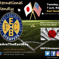 East Bay FC Stompers vs. Select International Team from Japan