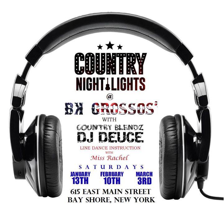 Country Night LIghts At BK Grossos With DJ DEUCE U0026 Miss Rachel