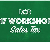 June Sales Tax Workshop