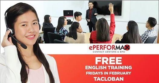 Free English Training - LNU Tacloban