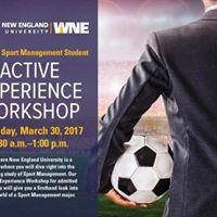Sport Management Active Experience Workshop