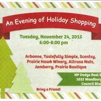 An Evening Holiday Shopping