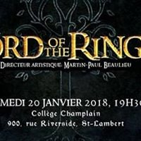 Concert &quot The Lord of the Rings &quot