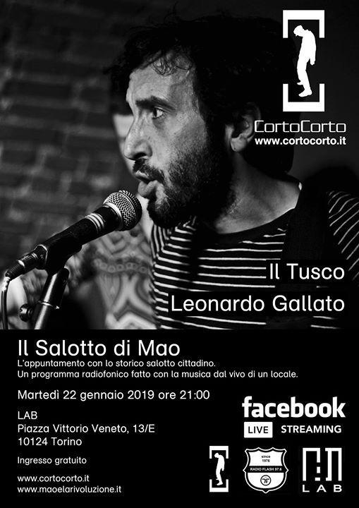 Il Salotto di Mao - Marted 22 gennaio 2019 - LAB (Torino)