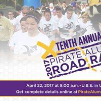 10th Annual Pirate Alumni Road Race
