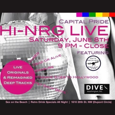 Capital Pride HI-NRG Live