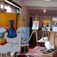 Tabara de pictura Hobby Art pentru incepatori