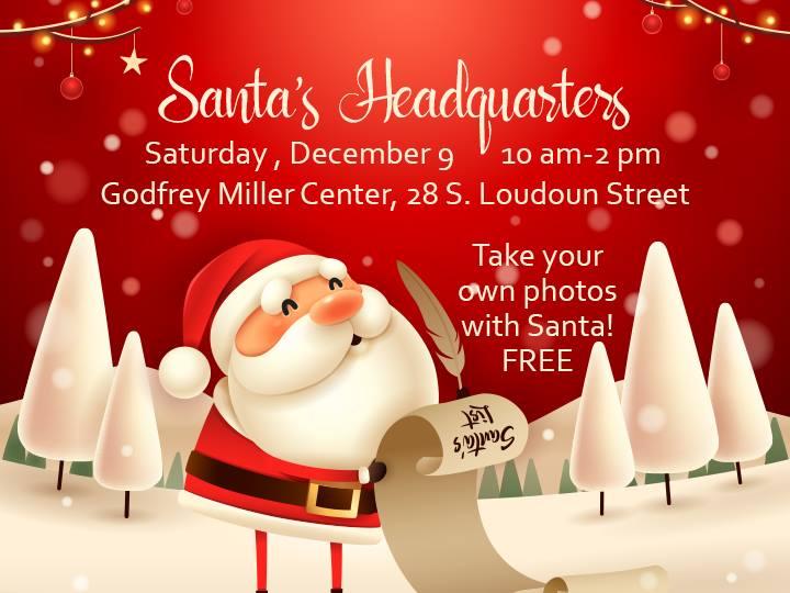 Santas Headquarters at City of Winchester VA - Local