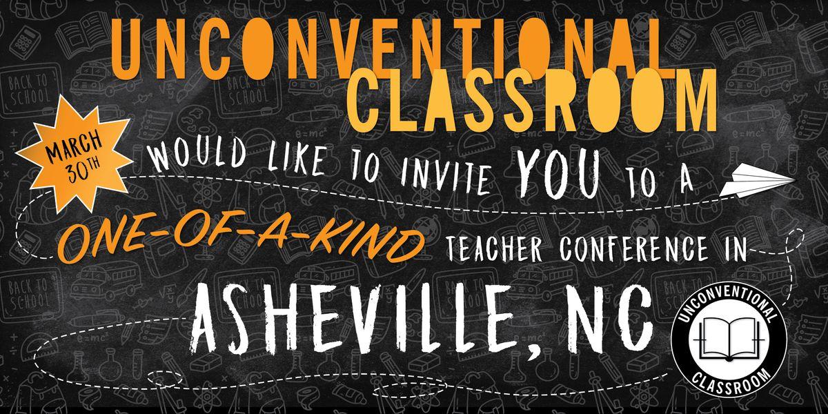 Teacher Workshop - Asheville NC- Unconventional Classroom