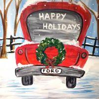 Paint Nite - Christmas Vacation