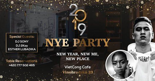 NYE Party VietCong Cafe