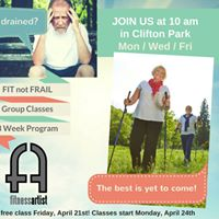 Fit not Frail 55 Group Training