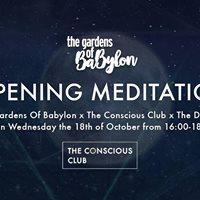 ADE Opening Meditation