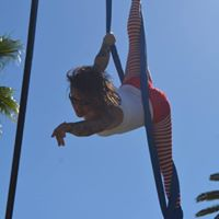 Aerial Fabric class at Groundwork Fitness