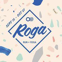 Run  Yoga  ROGA with Sara Falugo