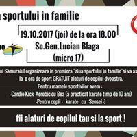 Ziua Sportului in Familie
