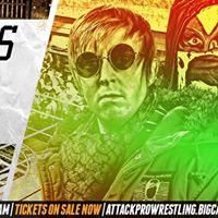 Attck Pro Wrestling Teenagers with Attitude (Sat. 13th May - Frog &amp Fiddle Cheltenham)