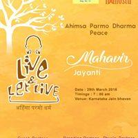Mahaveer Janma Kalyanak - Peace March - Ahimsa Parmo Dharm