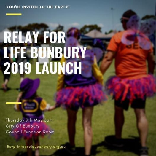 Relay Bunbury 19 Launch