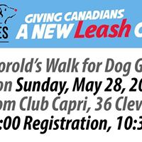 Thorold Lions Club Walk for Dog Guides