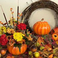 Wine and Design Pumpkin Workshop