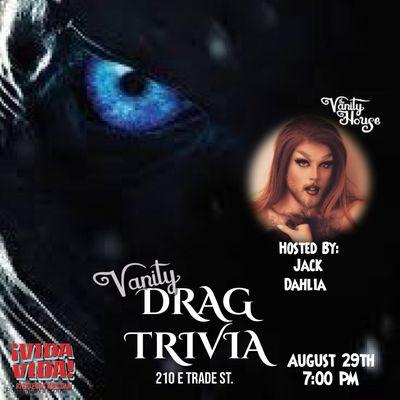 FREE Vanity Drag Trivia Game of Thrones