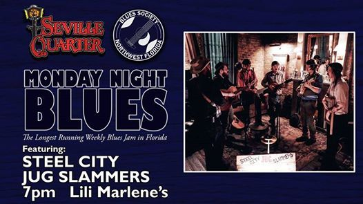 Monday Night Blues featuring the Steel City Jug Slammers